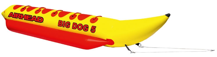Airhead-Big Dog, Model: 6 kişilik; Ölçü: 5.80 x 1.52 m